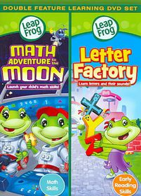 Leapfrog:Math Adventure to the Moon/L - (Region 1 Import DVD)