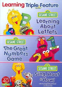 Sesame Street:Learning Triple Feature - (Region 1 Import DVD)