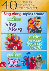 Sesame Street:Sing Along Fun Pack - (Region 1 Import DVD)