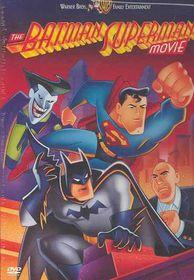 Batman Superman Movie - (Region 1 Import DVD)