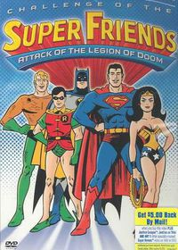 Challenge of the Superfriends - (Region 1 Import DVD)