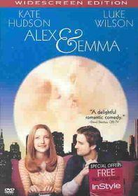 Alex & Emma - (Region 1 Import DVD)