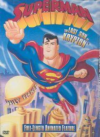Superman:Last Son of Krypton - (Region 1 Import DVD)