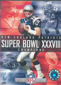 NFL Super Bowl XXXVIII: New England Patriots - (Region 1 Import DVD)