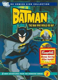 Batman: The Man Who Would Be Bat - Season 1 Vol 2 - (Region 1 Import DVD)