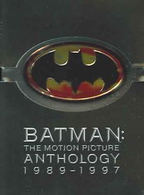 Batman: The Motion Picture Anthology 1989-1997 - (Region 1 Import DVD)