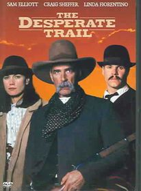 Desperate Trail - (Region 1 Import DVD)
