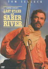 Last Stand at Saber River - (Region 1 Import DVD)