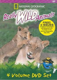 Really Wild Animals 4pk Set - (Region 1 Import DVD)