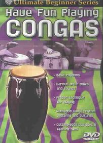 Having Fun Playing Congas - (Region 1 Import DVD)