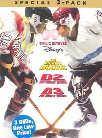 Mighty Ducks/D2/D3 Special 3pk - (Region 1 Import DVD)