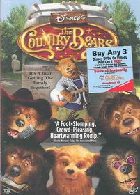 Disney's the Country Bears - (Region 1 Import DVD)