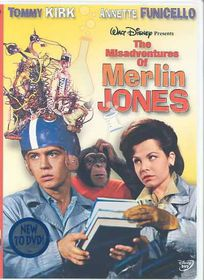 Misadventures of Merlin Jones - (Region 1 Import DVD)