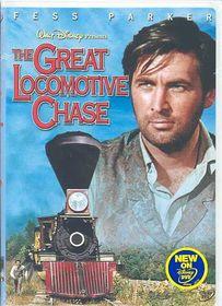 Great Locomotive Chase - (Region 1 Import DVD)