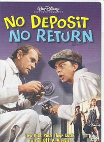 No Deposit No Return - (Region 1 Import DVD)