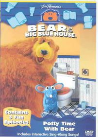 Bear in the Big Blue House - Potty Time With Bear (DVD) - (Region 1 Import DVD)