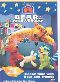 Bear in the Big Blue House - Sleepy Time with Bear and Friends - (Region 1 Import DVD)