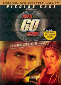 Gone in 60 Seconds:Director's Cut - (Region 1 Import DVD)