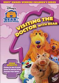 Bear in the Big Blue House - Visiting the Doctor with Bear - (Region 1 Import DVD)