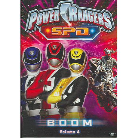 Power Rangers Spd:Boom Vol 4 - (Region 1 Import DVD)   Buy Online in South Africa   takealot.com