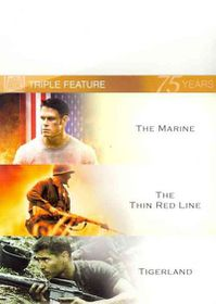 Marine/Thin Red Line/Tigerland - (Region 1 Import DVD)