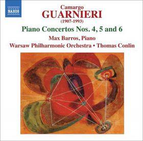 Guarnieri: Piano Conc 4-6 - Piano Concertos Nos.4-6 (CD)