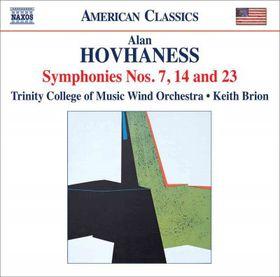 Hovhaness: Symphonies 7/14/23 - Symphonies Nos.7, 14 & 23 (CD)