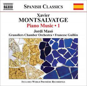 Montsalvatge: Piano Music - Piano Music - Vol.1 (CD)