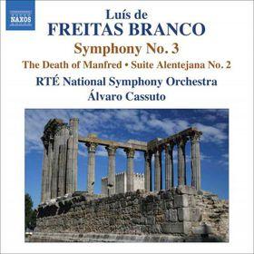 Freitas Branco: Orchestra Works Vol3 - Orchestral Works - Vol.3 (CD)