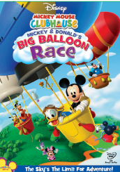 Mickey Mouse Clubhouse Mickey and Donald's Big Balloon Race (DVD)