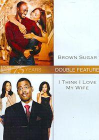 Brown Sugar/I Think I Love My Wife - (Region 1 Import DVD)