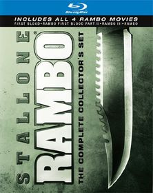 Rambo Complete Collection - (Region A Import Blu-ray Disc)