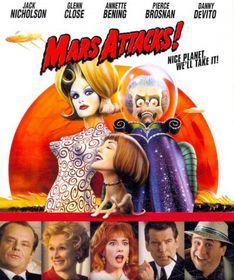 Mars Attacks - (Region A Import Blu-ray Disc)