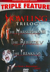 Howling Trilogy - (Region 1 Import DVD)