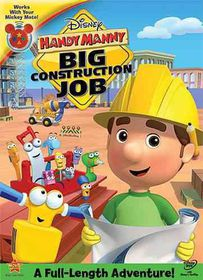 Handy Manny:Big Construction Job - (Region 1 Import DVD)