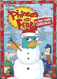 Phineas and Ferb:Verry Perrry Christm - (Region 1 Import DVD)