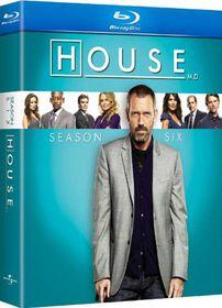 House:Season Six - (Region A Import Blu-ray Disc)