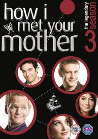 How I Met Your Mother: Season 3 - (Import DVD)