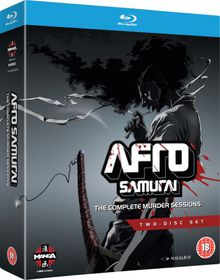 Afro Samurai: Complete Murder Sessions - (Import Blu-ray Disc)