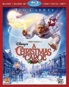 Disney's a Christmas Carol - (Region 1 Import Blu-ray Disc)