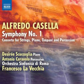 Casella: Symphony No 1 - Symphony No.1 (CD)