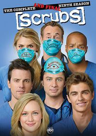 Scrubs:Complete Ninth and Final Season - (Region 1 Import DVD)