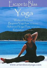 Art & Soul Yoga:Escape to Bliss with - (Region 1 Import DVD)