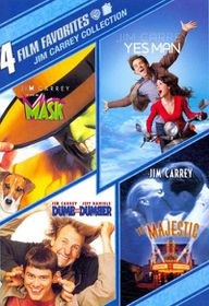 4 Film Favorites:Jim Carrey - (Region 1 Import DVD)