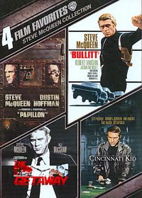 4 Film Favorites:Steve Mcqueen Collec - (Region 1 Import DVD)