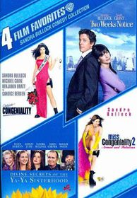 4 Film Favorites:Sandra Bullock Comed - (Region 1 Import DVD)