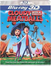 Cloudy with a Chance of Meatballs (3d - (Region A Import Blu-ray Disc)
