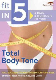 Fit in 5:Total Body Tone - (Region 1 Import DVD)