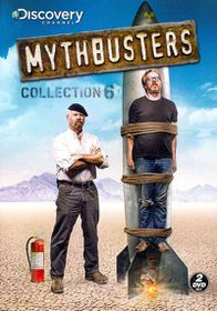Mythbusters Collection 6 - (Region 1 Import DVD)