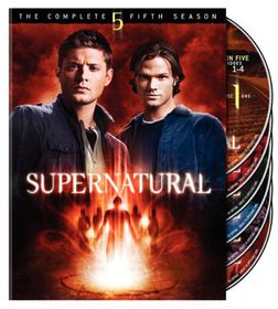 Supernatural: Complete Fifth Season - (Region 1 Import DVD)